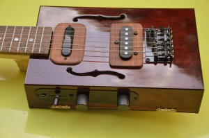6 string cigar box guitar